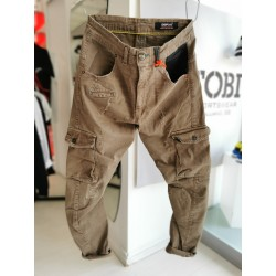 Pantalone cargo Displaj EVOLUTION beige