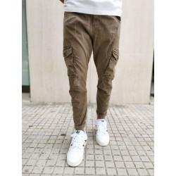 Pantalone cargo Displaj EVOLUTION beige