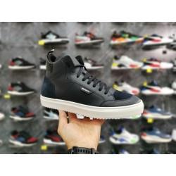 Sneaker Antony Morato In Pelle alta Blu MMFW01348-LE300001-7073 art.Damme