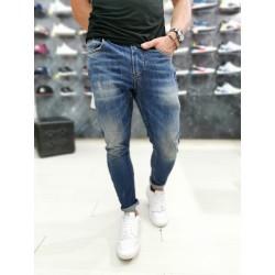 Jeans Displaj VERTIGO Ergonomico con micro rotture w.chiaro
