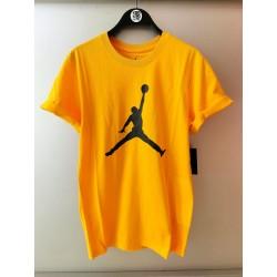 T-shirt Nike Jordan Jumpman university gold/black CJ0921-740