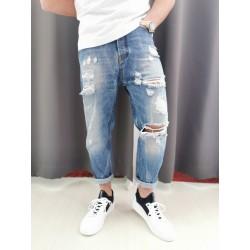 Jeans Displaj WIDE 4843 Con Strappi baggy fit