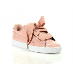 Scarpa PUMA Basket Heart in vernice 363073_02